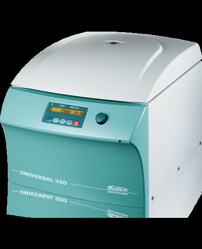 Hettich UNIVERSAL 320 benchtop centrifuge closed