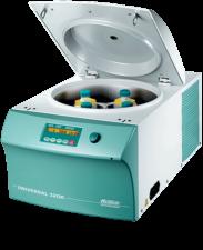 Hettich UNIVERSAL 320 R Benchtop centrifuge open