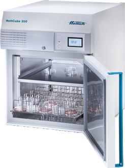 Hettich HettCube 200 incubator with glass door